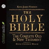 The Holy Bible in Audio - King James Version: The Complete Old & New Testament - Unabridged Audiobook [Download]
