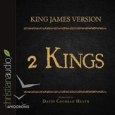 The Holy Bible in Audio - King James Version: 2 Kings - Unabridged Audiobook [Download]