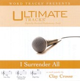I Surrender All - Medium key performance track w/ background vocals [Music Download]