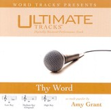 Thy Word - Low key performance track w/ background vocals [Music Download]