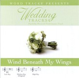 Wedding Tracks - Wind Beneath My Wings [Performance Track] [Music Download]