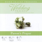 Parent's Prayer - Medium key performance track w/o background vocals [Music Download]