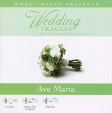 Ave Maria - Medium key performance track w/o background vocals [Music Download]