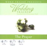 Wedding Tracks - The Prayer [Performance Track] [Music Download]