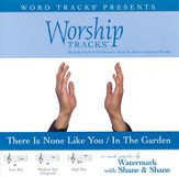 In The Garden / There Is None Like You - Low key performance track w/ background vocals [Music Download]