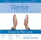 Worship Tracks - Great Is The Lord - as made popular by Darlene Zschech [Performance Track] [Music Download]