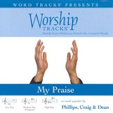 My Praise - Low key performance track w/ background vocals [Music Download]