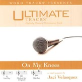 On My Knees - Low key performance track w/ background vocals [Original Key] [Music Download]