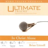 In Christ Alone - Low key performance track w/ background vocals [Music Download]