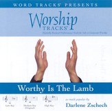 Worthy Is The Lamb - Medium key performance track w/o background vocals [Music Download]