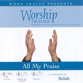 All My Praise - Low key performance track w/o background vocals [Music Download]