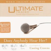 Does Anybody Hear Her - High key performance track w/ background vocals [Music Download]