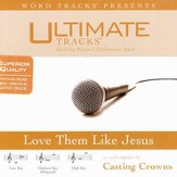 Love Them Like Jesus - Low key performance track w/ background vocals [Music Download]