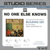 No One Else Knows [Studio Series Performance Track] [Music Download]