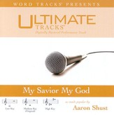 My Savior My God - Low key performance track w/ background vocals [Music Download]