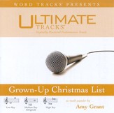 Grown-Up Christmas List - Medium key performance track w/o background vocals [Music Download]