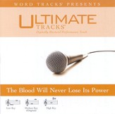 The Blood Will Never Lose Its Power - Low key performance track w/o background vocals [Music Download]