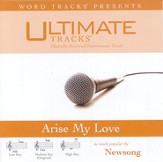 Arise My Love - Low key performance track w/ background vocals [Music Download]