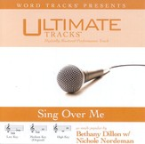 Sing Over Me - Low key performance track w/ background vocals [Music Download]