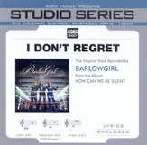 I Don't Regret [Studio Series Performance Track] [Music Download]