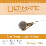 Let Your Light Shine - Medium Key Performance Track w/ Background Vocals [Music Download]