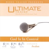 God Is In Control - Medium Key Performance Track w/ Background Vocals [Music Download]
