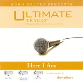 Ultimate Tracks - Here I Am - as made popular by Downhere [Performance Track] [Music Download]