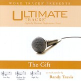 The Gift - Medium key performance track w/ background vocals [original key] [Music Download]