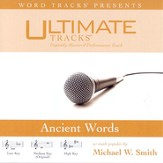 Ancient Words - Low key performance track w/ background vocals [Music Download]