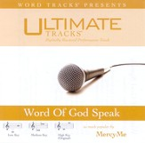 Word Of God, Speak - Medium key performance track w/ background vocals [Music Download]