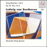 Beethoven: String Quartets Vol. 5 [Music Download]