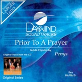 Prior To A Prayer [Music Download]