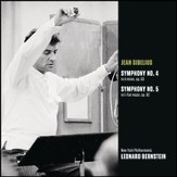 Sibelius: Symphony No. 4 in A minor, op. 63; Symphony No. 5 in E-flat major, op. 82 [Music Download]