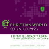 I Think I'Ll Read It Again [Music Download]