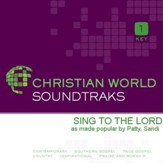 Sing To The Lord [Music Download]