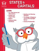 States & Capitals Activity PDF & Digital Album Download [Music Download]