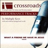 What A Friend We Have In Jesus (Performance Track with Background Vocals in F) [Music Download]
