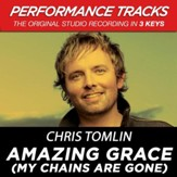 Amazing Grace (My Chains Are Gone) (Key-G-Premiere Performance Plus w/ Background Vocals) [Music Download]