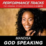 God Speaking (Medium Key-Premiere Performance Plus w/o Background Vocals) [Music Download]