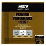 What If (Premiere Performance Plus Track) [Music Download]