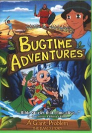 Bugtime Adventures: A Giant Problem (The David Story), DVD