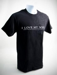 I Love My Wife Shirt, XX-Large (50-52)