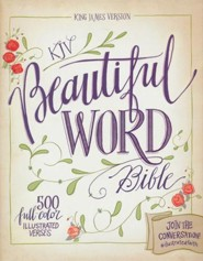 KJV Beautiful Word Bible, hardcover