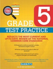 Grade 5, Test Practice for Common Core