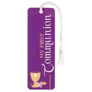 My First Communion Tassel Bookmark