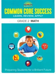 Barron's Common Core Success: Math, Grade 2