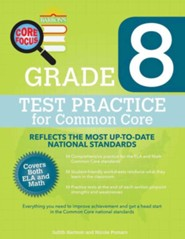 Grade 8, Test Practice for Common Core