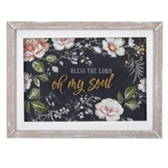 Bless the Lord, Oh My Soul Wall Plaque