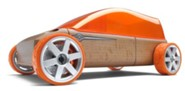 M9 Beech Wood Sportvan Kit with Orange Tires