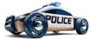 S9 Beech Wood Police Car Kit with Dark Blue Finish